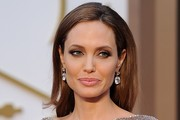 Angelina Jolie Long Hairstyles