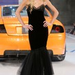 Anna Kournikova Clothes - Mermaid Gown