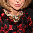 Anna Wintour Gemstone Statement Necklace