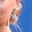 Annie Starke Dangling Diamond Earrings