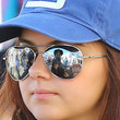 Ariel Winter Aviator Sunglasses