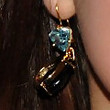 Ariel Winter Dangling Gemstone Earrings