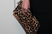 Ashlee Simpson Printed Clutch