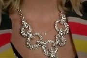 Ashley Benson Gemstone Statement Necklace