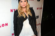 Ashley Benson Leather Jacket