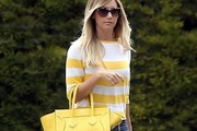 Ashley Tisdale Likes Yellow — A Lot