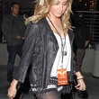 Ashley Tisdale Clothes - Leather Jacket