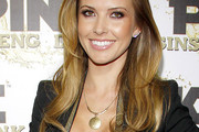 Audrina Patridge Gold Charm Necklace