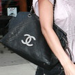 Audrina Patridge Leather Shoulder Bag