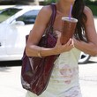 Audrina Patridge Patent Leather Shoulder Bag