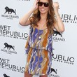 Audrina Patridge Clothes - Print Dress