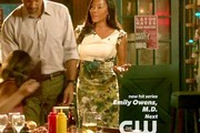 Golden Brooks Pencil Skirt