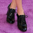 Bailee Madison High Heel Oxfords