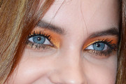 Barbara Palvin Bright Eyeshadow