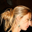 Beatrice Borromeo Hair - Messy Updo