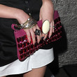 Bella Thorne Handbags - Gemstone Inlaid Clutch