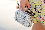 Bella Thorne Printed Clutch