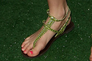 Bella Thorne Thong Sandals