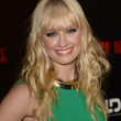 Beth Behrs Hair - Long Wavy Cut with Bangs