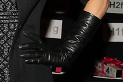 Bethenny Frankel Leather Gloves