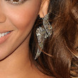 Beyonce Knowles Jewelry - Dangling Diamond Earrings