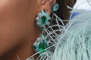 Beyonce Knowles Dangle Earrings