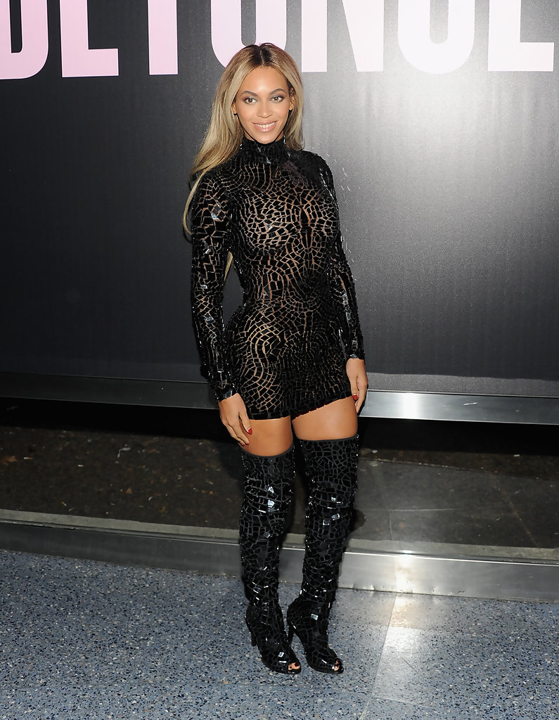 beyonce knowles the knee boots beyonce knowles