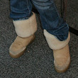 Bijou Phillips Shoes - Sheepskin Boots