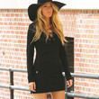 Blake Lively Clothes - Little Black Dress