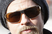 Brad Pitt Athletic Shield Sunglasses