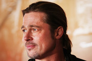 Brad Pitt Long Hairstyles