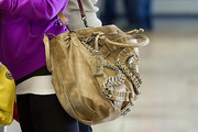 Bristol Palin Wears a Chocolate Bag