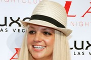 Britney Spears Panama Hat