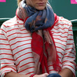 Brooklyn Decker Patterned Scarf