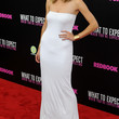 Brooklyn Decker Clothes - Strapless Dress