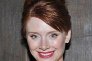 Bryce Dallas Howard Bobby Pinned updo