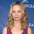 Calista Flockhart Hair - Long Center Part