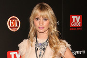 Cameron Richardson Long Curls with Bangs