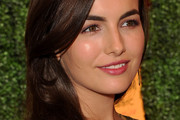 Camilla Belle's Side Swept Hairdo at the Veuve Clicquot Polo Classic