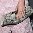 Carly Steel Oversized Clutch