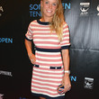 Caroline Wozniacki Clothes - Print Dress