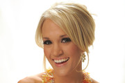 Carrie Underwood Chignon
