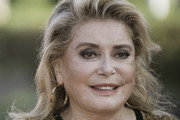 Catherine Deneuve Long Hairstyles