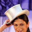 Catherine Zeta Jones Hats - Top Hat