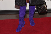 Chaka Khan Knee High Boots