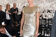 Charlize Theron Beaded Dress