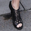 Charlize Theron Shoes - Cutout Boots