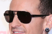 Chester Bennington Designer Shield Sunglasses