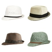 Chic Summer Fedoras