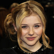 Chloe Grace Moretz Hair - Bobby Pinned updo